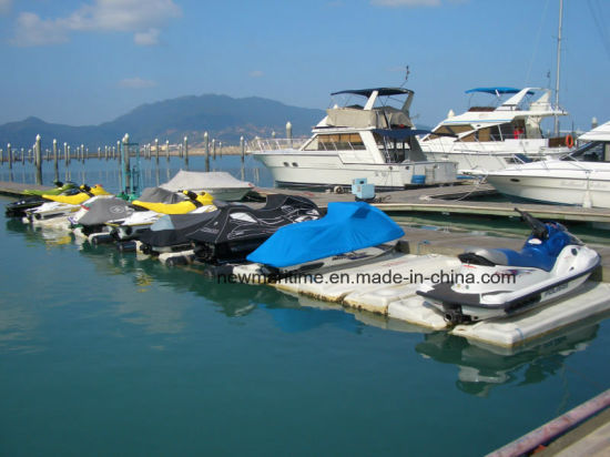 China Floating Jet Ski Dock with Roller - China Floating