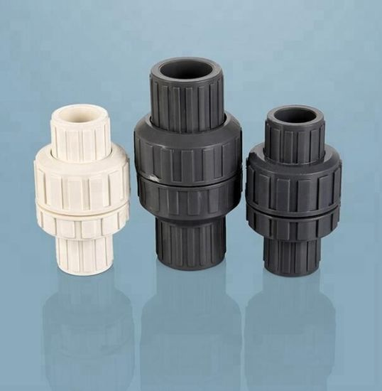 UPVC Plastic Intermediate Valve Spring Check Valve Swing Check Valve pictures & photos