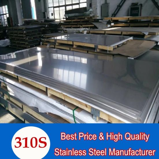 ASTM 310S Acid-Resistant Stainless Steel Sheet for High Temperature Environment