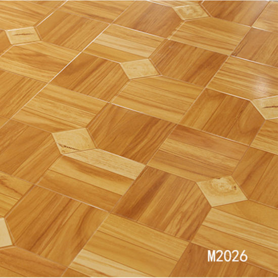 China Parquet High Gloss 12mm Hdf Laminate Flooring Waterproof 300mm