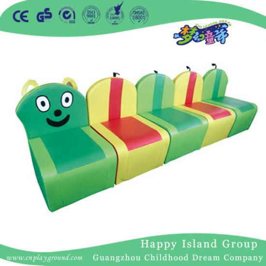 Interesting Special Design Caterpillar Combination Leather Sofa (HJ-8703)