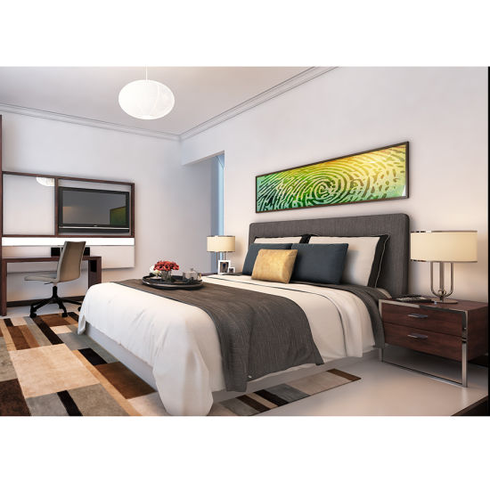 China 2018 Modern Simple Design High Quality 3 Star Hotel Bedroom Furniture For Sale China Serviced Apartment Furniture Hotel Furniture