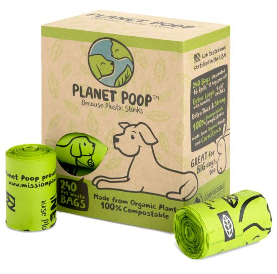 Biodegradable Material Pet Waste Bags Dog Poop Bags Plastic Bag with Customized Logo pictures & photos