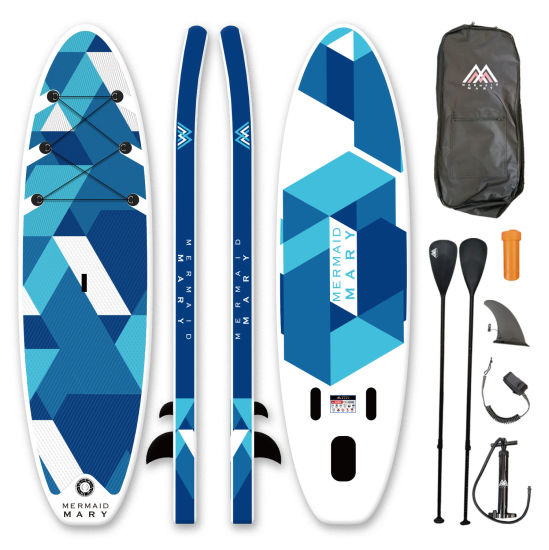 Wholesale Sup Surf Control Kayak Inflatable Double Layer Kayaking Fishing Air Board
