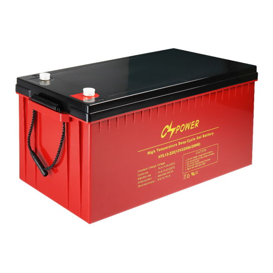 Htl12V200ah Deep Cycle Battery/Sunny Battery/Gel Battery/Solar Battery/UPS Battery with 20years Life Cspower