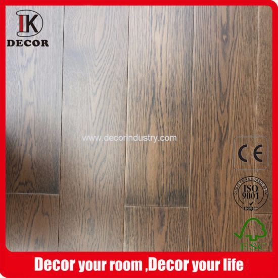 Russian Oak Brown Composite Wood Flooring pictures & photos