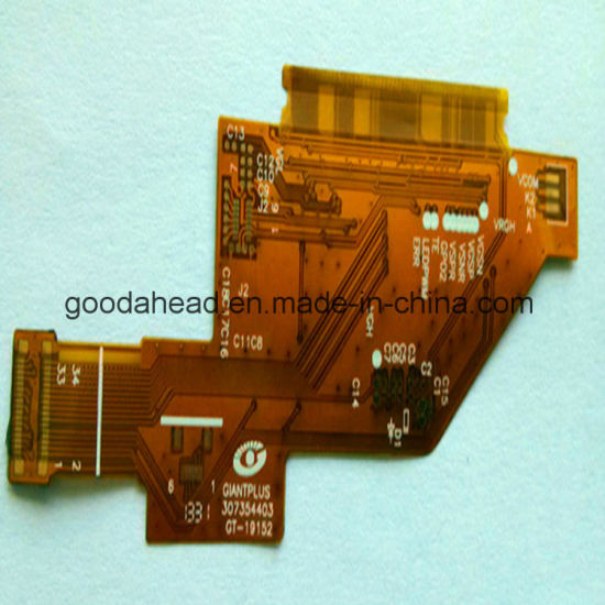 China Copper FPC and Polyimide Material Flexible PCB Circuit