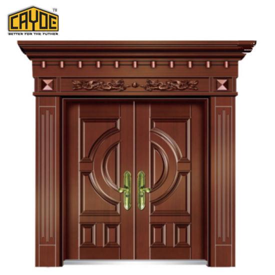 China Cayoe Luxurious Front Main Entrance Aluminum Doors Design ...