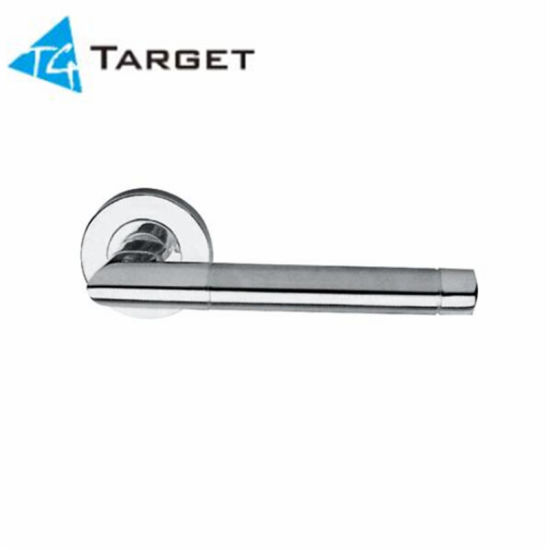 Stainless Steel Round Tube Pull Door Lever Handle (DLH-T19) pictures & photos