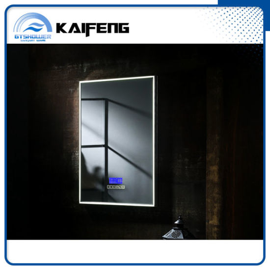 Fogless LED Touch Screen Smart Mirror, Hotel Bathroom Mirror (SM 007)
