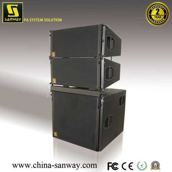 Sanway Vsub V8 Hot Bass Line Array 18'' + 12'' Subwoofer for Outdoor Indoor
