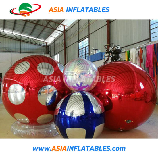 China Decorations Inflatable Mirror Balloon In Stock For Fairs And