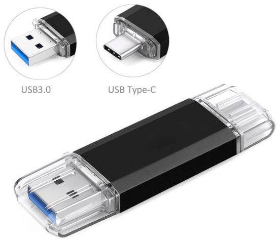 High-Speed OTG USB Type C USB Flash Drive 8GB 16GB 64GB Pendrive Type-C 3.0 Flashdrive Thumb Drive