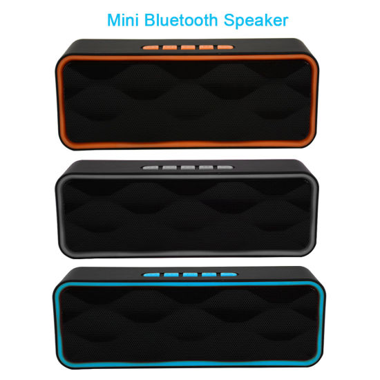 Stereo Portable Wireless Mini Powered Loud Bluetooth Audio PA Speaker Factory Wholesales Promotion Christmas Gift Sound Box China Speaker