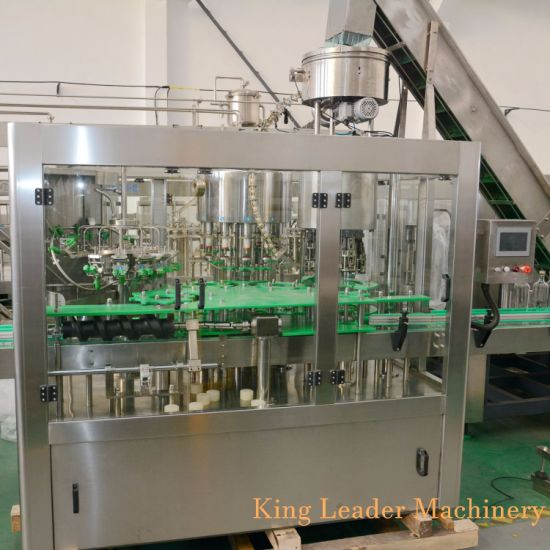 Full Automatic Pet Glass Bottle Pure Mineral Water Juice Energy Drink Bottling Filling Production Line