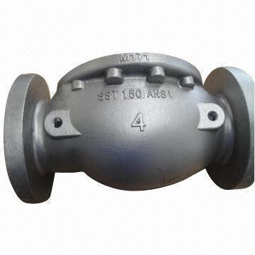 Densen Customized Stainless Steel Valve Body Investment Check Valve Sand Casting Body Custom Casting Valve Body