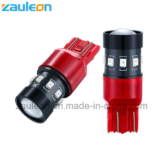 Automotive LED Bulb T20 7443 7440 Red Color for Tail Light Brake Lamp