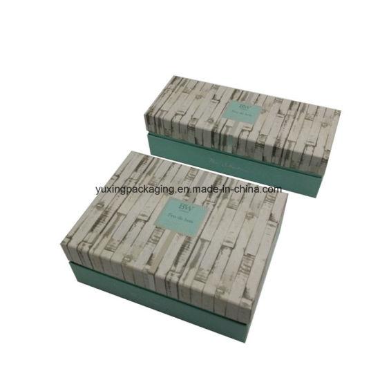 Export Quality Elegant Magnet Closure Cardboard Paper Cosmetic Box with EVA Insert