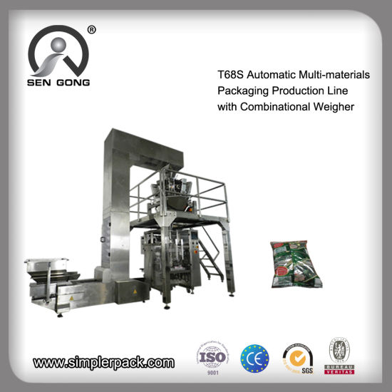 T68s High-End Big Weight Packing Machine for Multi-Materials