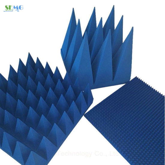 [Hot Item] Foam Pyramid Microwave Absorber for RF Shielding Anechoic Chamber