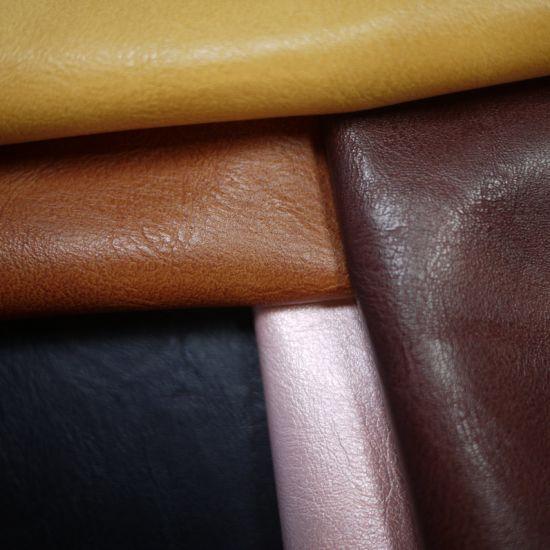 Manufacturer Nubuck PU Imitation Leather Vintage Style Wholesale Sofa Leather