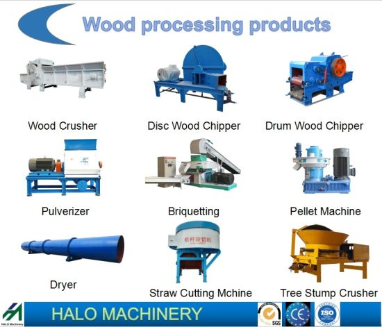 High Efficiency Wood Chipper/Wood Crusher/Woodworking Machienry/Agricultural Machine for Biomass Power Plant