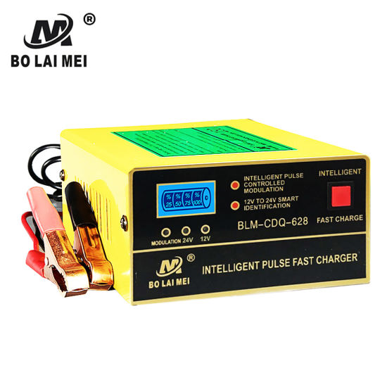 12V24V 10A Power Display Smart Quick Power Battery Charger