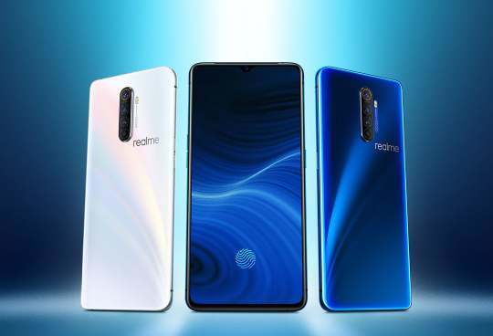 Global Version Realme X2 PRO 8GB 128GB Mobile Phone Snapdragon 855 Plus 64MP Quad Camera NFC Cellphone Oppo Vooc