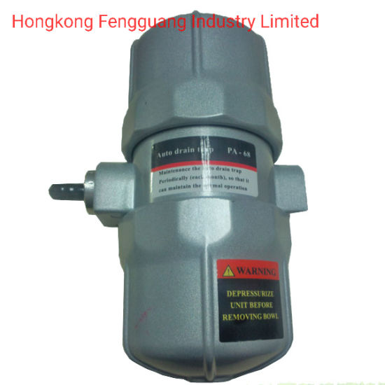 Screw Air Compressor Part PA68 Plug Auto Drain Valve