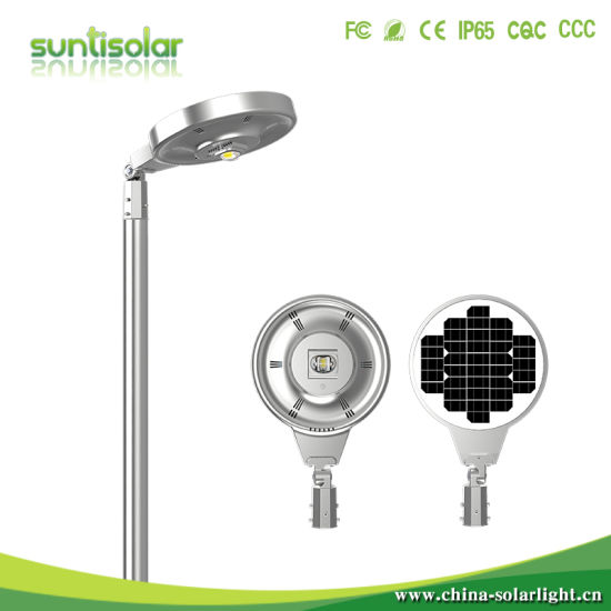 40W/50W/60W/80W/100W/120W IP65 All-in-One/Integrated Outdoor Sensor LED Solar Street Light Factory Manufacture