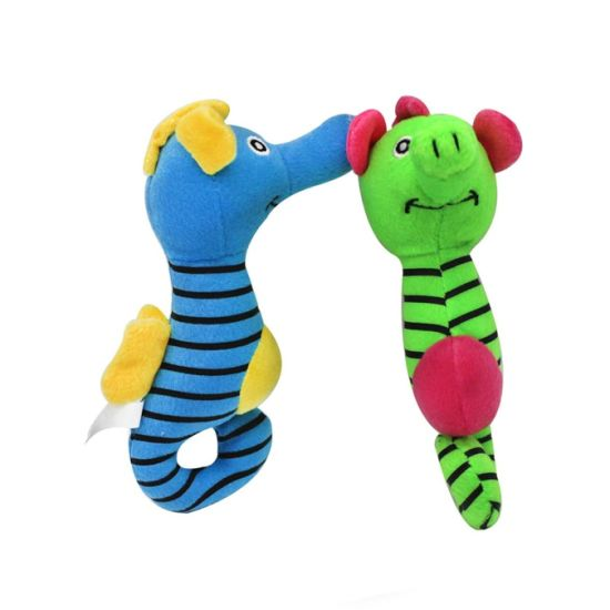 Seahorse Animal Soft Stuffed PP Cotton Plush Pet Dog Toy
