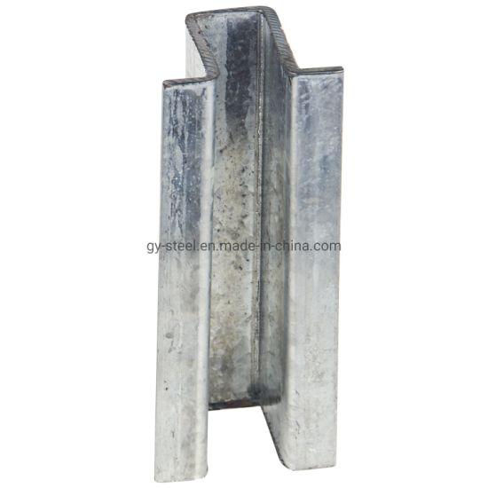 Mild Steel Price Galvanized Cold Rolled Omega Profile Per Kg to Malaysia