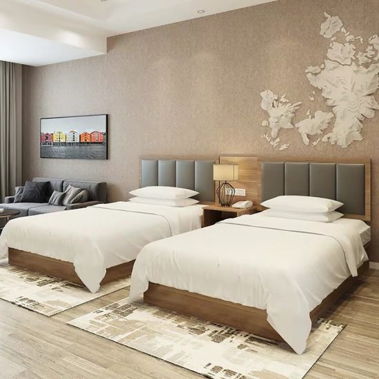 2019 Latest Design Wooden Hotel Bedroom Contemporary Furniture