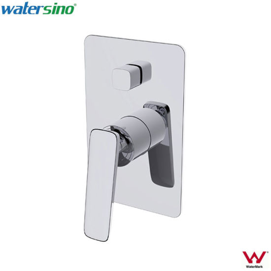 China Chrome Plated Dzr Br Bathroom