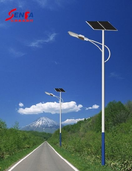 IP65 Aluminum Housing Long Working Time High Quality Price Favorable 60W Solar Light LED Street Light pictures & photos