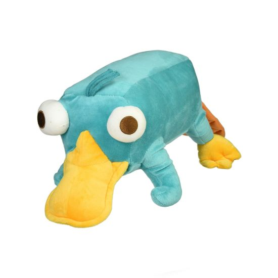 Blue Stuffed Soft Platypus Animal Custom Ce Handmade Plush Toy