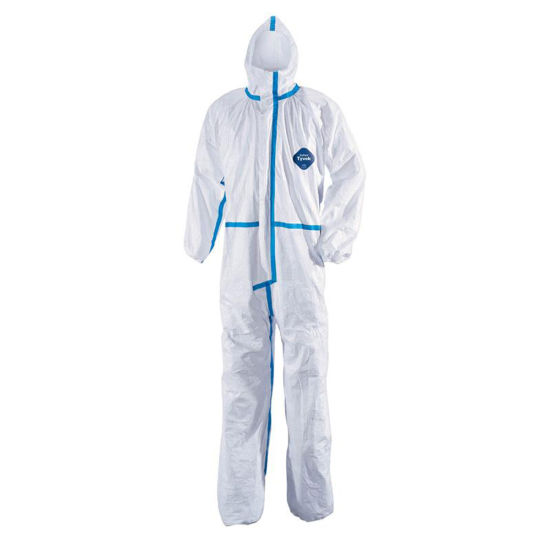 Hospital ICU Police Protective Safety Coverall Suit Waterproof Full Body Virus Isolation Overall Disposable Protection Suit Clothing