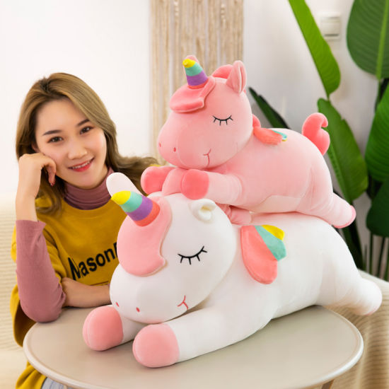 Creative Plush Toy Queen-Size Unicorn Doll Explosion Net Red Pillow Children's Gift Doll
