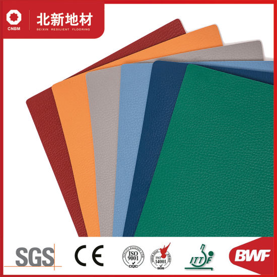 Cheap PVC Flooring in Rolls for Indoor Sports Courts Decoration -4.5mm Hj69110
