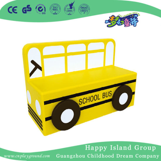 School Low Price School Bus Shaped Sofa for Kids (HJ-8904)
