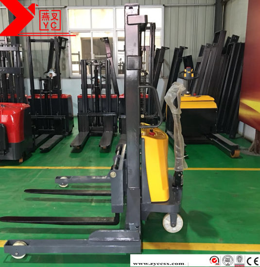 Hand Operated Truck Forklift Pallet, 1 Ton 2 Ton Semi Electric Forklift Hydraulic