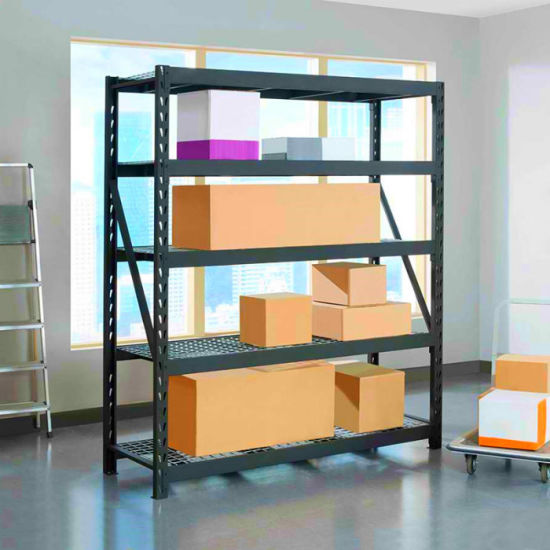 Adjustable Industrial Warehouse Storage Steel Light Duty Boltless Racking pictures & photos