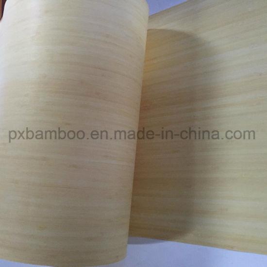 Natural Vertical Bamboo Veneer for Interior Decorate
