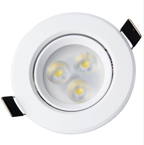 LED Downlight Ceiling Recessed Downlight Round Panel Light Home Store Use 3W 5W 7W 9W 12W