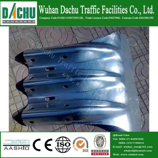 China Wuhan Dachu Stainless Guardrail Fishtail End - China W