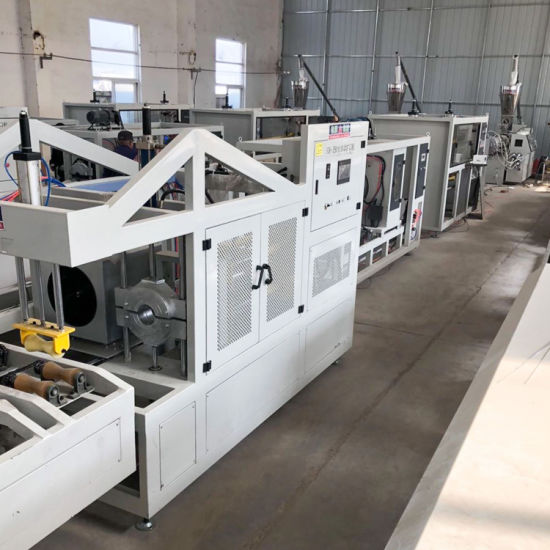 Plastic PVC HDPE PE PP PPR CPVC/LDPE Electricity Conduit Tube/ Water Sewage Pressure Pipe/Gas Hose/ Profile/Sheet Extrusion &Extruding Production Line