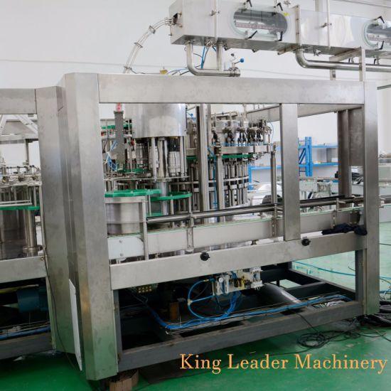Plastic Bottle CSD Carbonated Soft Drink Beverage Filling Machine