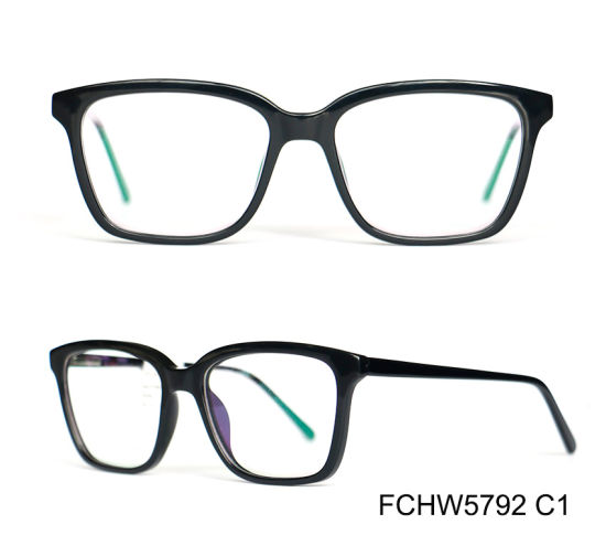 Classical Italy Design Injection Acetate Optical Frame pictures & photos