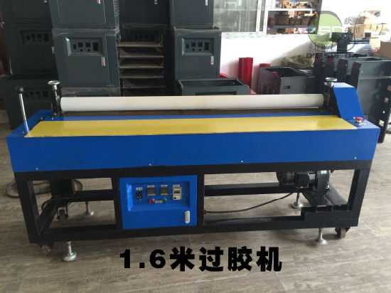 Ce Approved OSD-1600 Hot Melt EVA Foam Sheet Material Glue Roller Machine