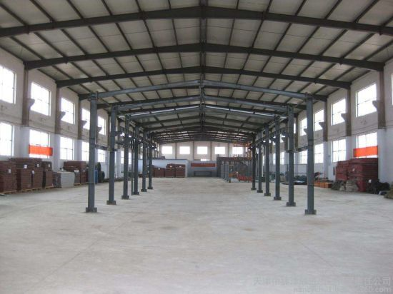 Hot DIP Galvanzied Steel Beam with Overhead Crane pictures & photos